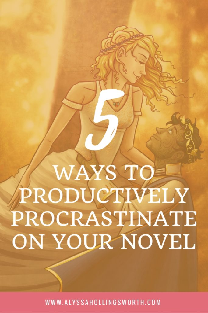 Ways to Productively Procrastinate on Your Novel