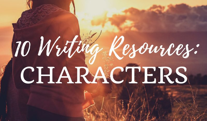 10 Writing Resources: Characters