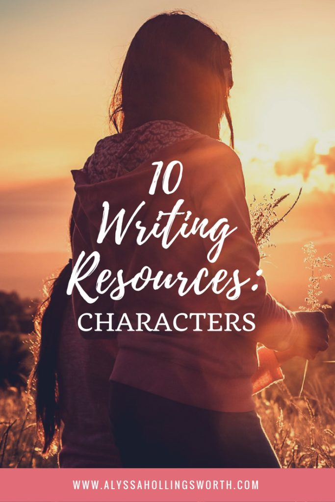 10 Writing Resources- Characters