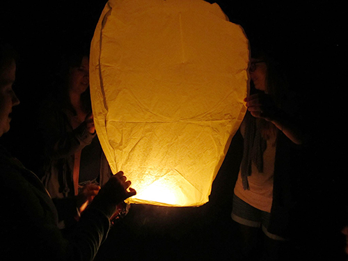 The Floating Lantern: Or, The Last Night