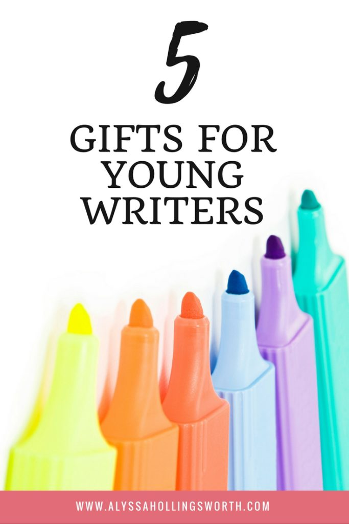 5 Gifts for Young Writers