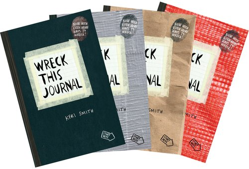 Wreck this Journal Bundle at Amazon