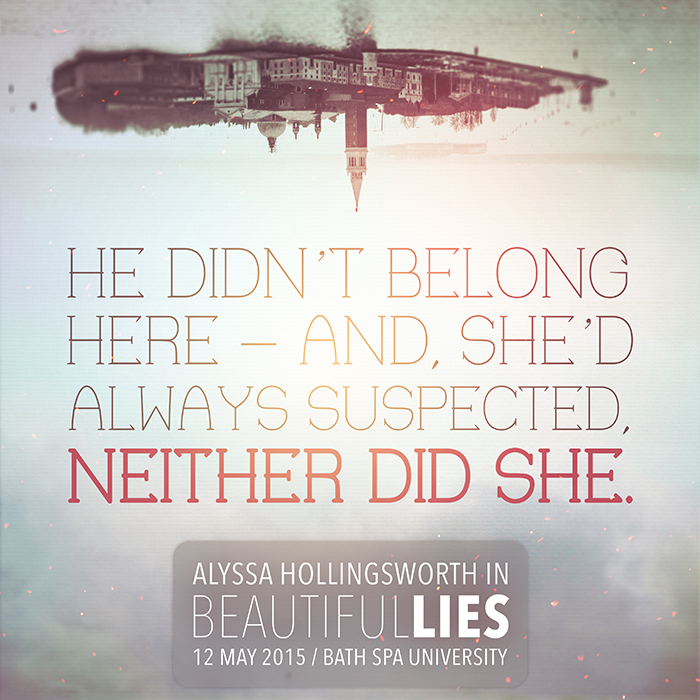 Beautiful Lies Anthology Graphics