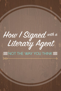 How I Signed with a Literary Agent