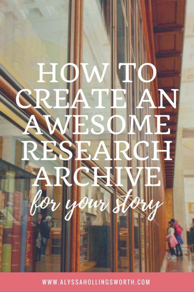 How To Create an Awesome Research Archive