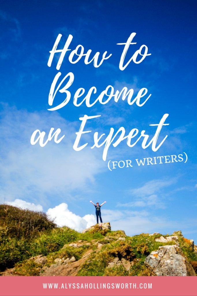 How to Become an Expert (for Writers)