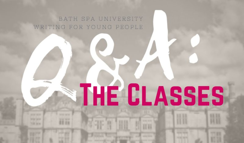 Writing for Young People Q&A: Classes