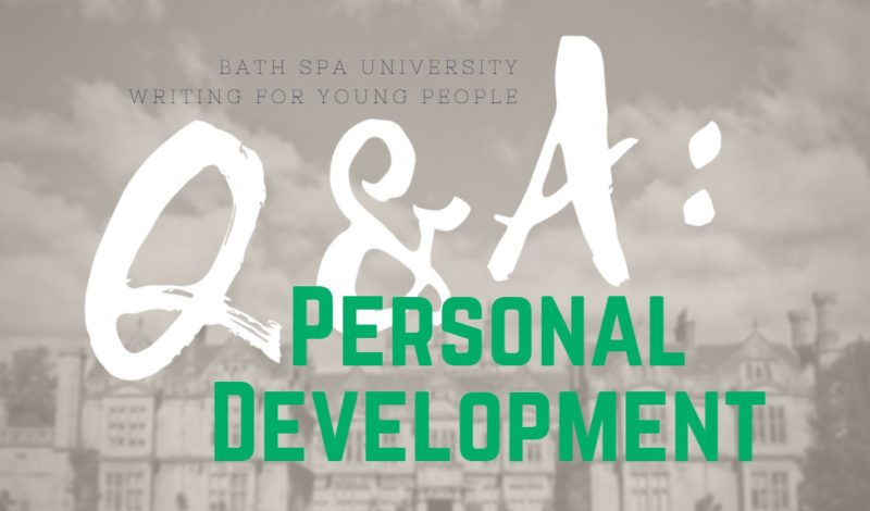 Writing for Young People Q&A: Personal Development