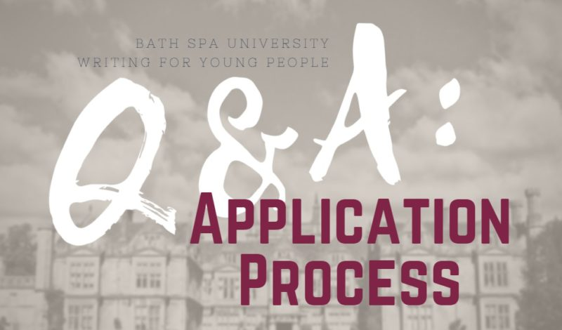 Writing for Young People Q&A: Application Process