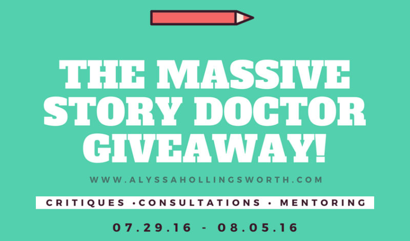 The Massive Story Doctor Giveaway!