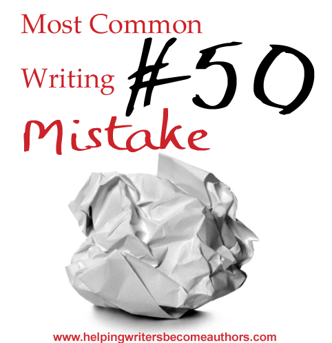 Most Common Writing Mistakes, Pt. 50: Info Dumps