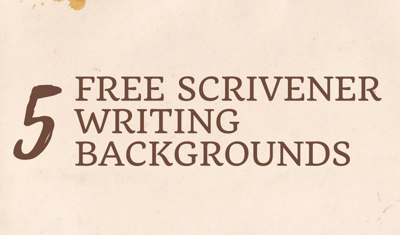 5 Free Scrivener Writing Backgrounds