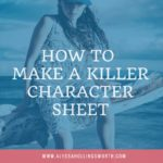How to Make a Killer Character Sheet