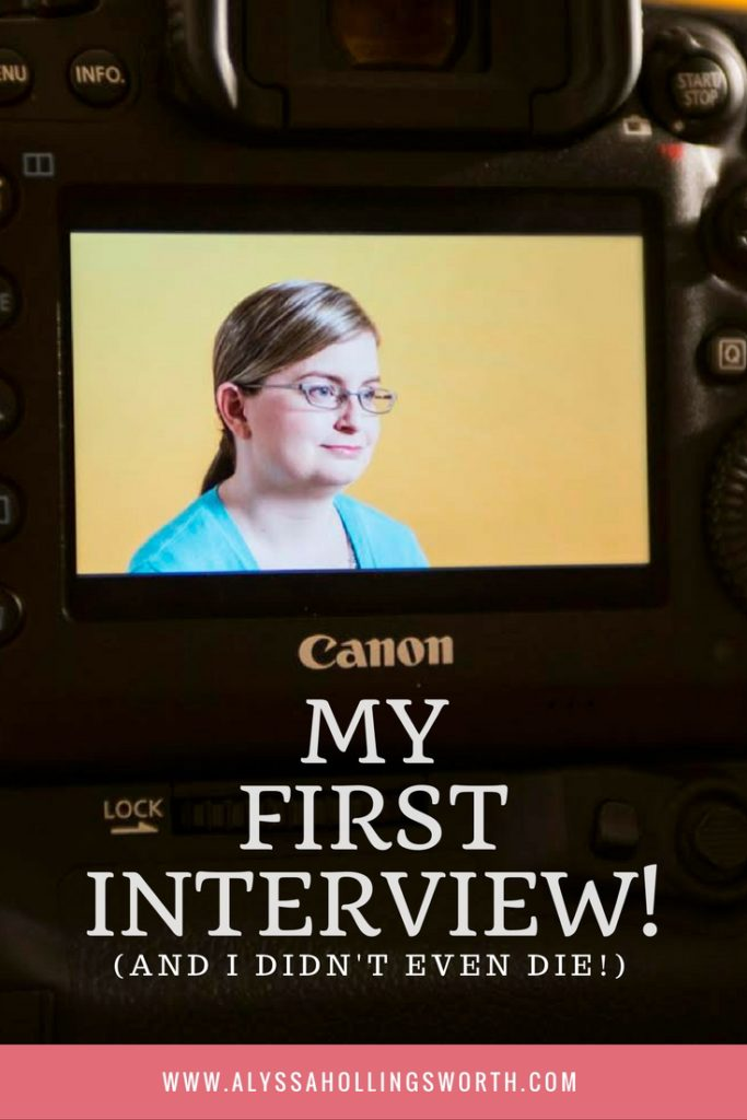 My First Interview