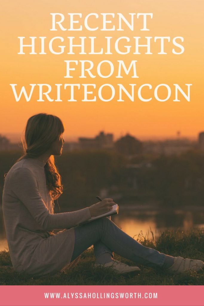 Recent Highlights from WriteOnCon
