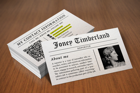 how to design an author business card - Author Business Cards